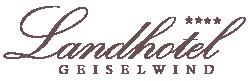 Landhotel Geiselwind Logo