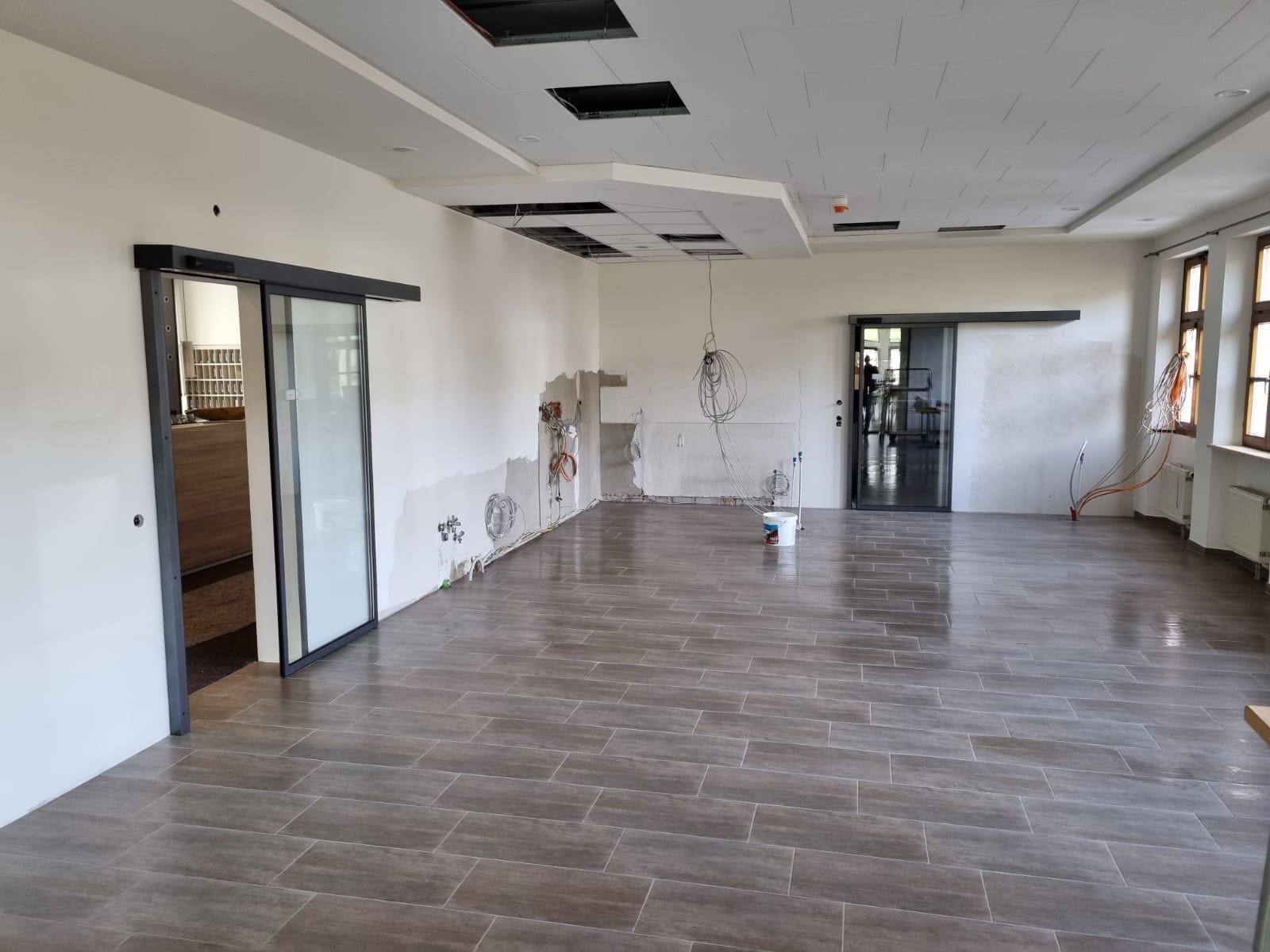 Umbau Bistro Landhotel Geiselwind